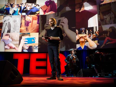 The birth of virtual reality as an art form | Chris Milk