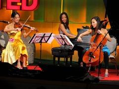 Ahn Trio: A modern take on piano, violin, cello