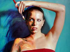 Alexa Meade: Your body is my canvas