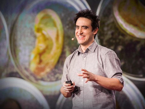 This scientist makes ears out of apples | Andrew Pelling