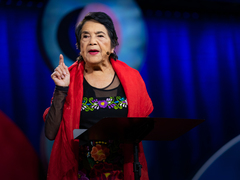 Dolores Huerta: How to overcome apathy and find your power