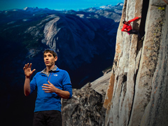 Alex Honnold: How I climbed a 3,000-foot vertical cliff -- without ropes
