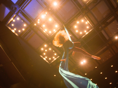 Adie Delaney: An aerialist on listening to your body's signals